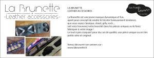 #amandinebouchaud#labrunette#bracelet#cuir#tricotin#