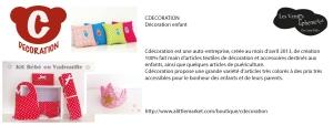 #fichecdécoration#les artyfilles#