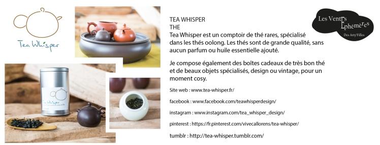 Tea whisper