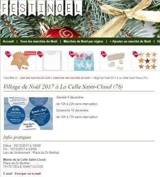 Village de Noël 2017 à La Celle Saint-Cloud (78) - Google Chrome